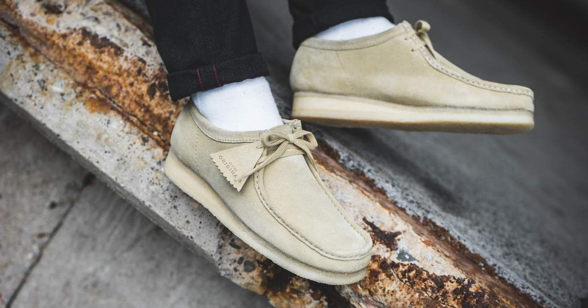 Clarks Originals Wallabee Maple Suede (beige)