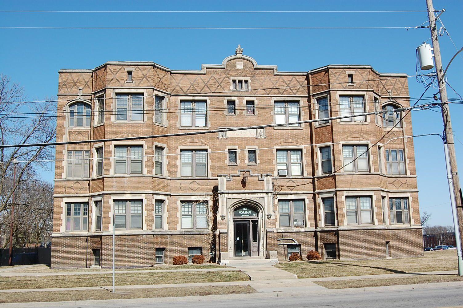 The Norman Apartments Des Moines Iowa House Styles Des Moines Iowa