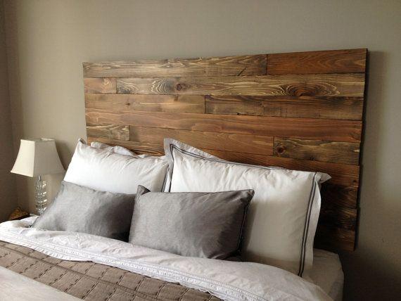 cedar barn wood style headboard modern
