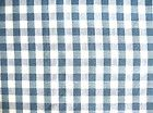 1 Yd. 19 L. Blue  White Checked Cotton Batiste Light Weight Fabric 43 Wide - amp, #blue, #cotton, #white, 19quot, 43quot, Batiste, Checked, fabric, Light, Weight, wide