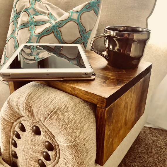 Fine Couch Sofa And Recliner Arm Rest Wrap Tray Table In 2019 Caraccident5 Cool Chair Designs And Ideas Caraccident5Info