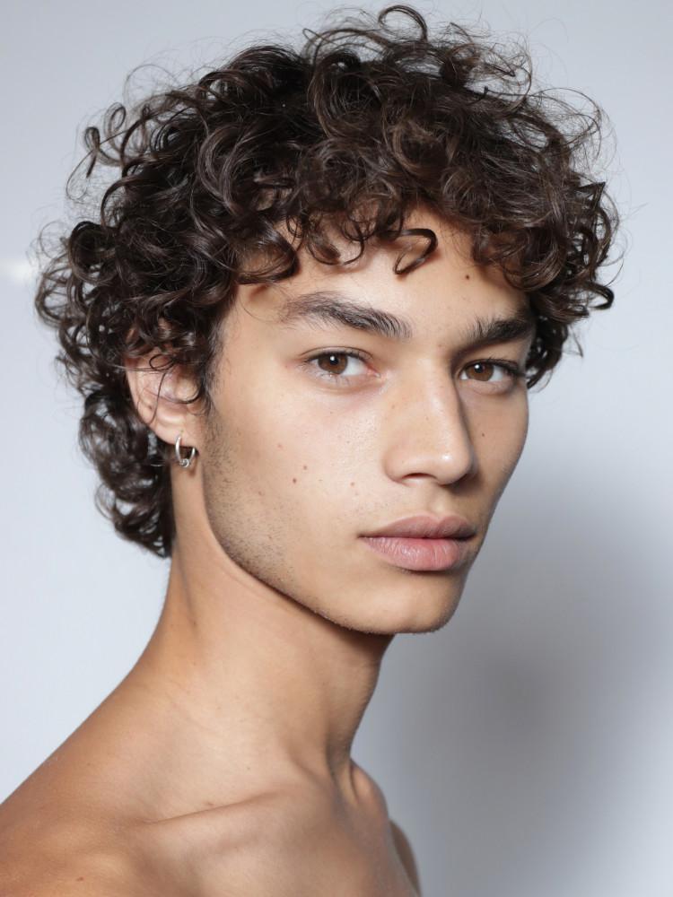 Marlon Pendlebury Polaroid Brown Hair Boy Brown Hair Male Boys With Curly Hair