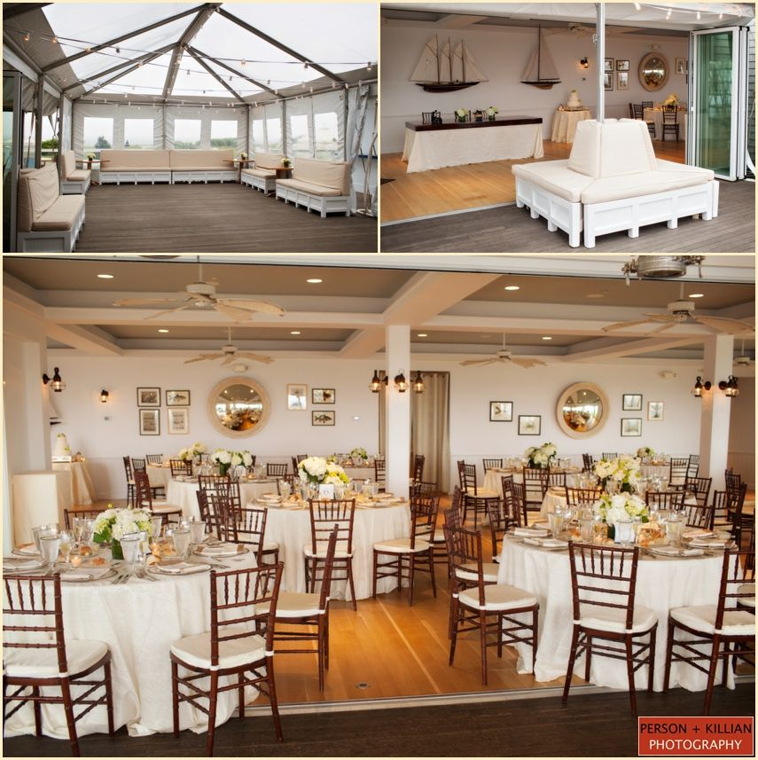 Elegant Beach Wedding at the Chatham Bars Inn Restaurant