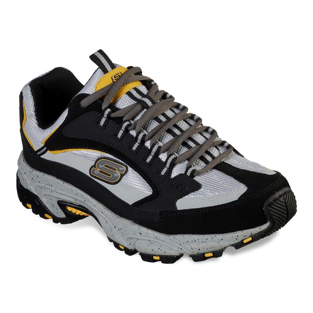 Skechers Stamina Cutback Men S Shoes Size 10 5 Xw Dark Grey
