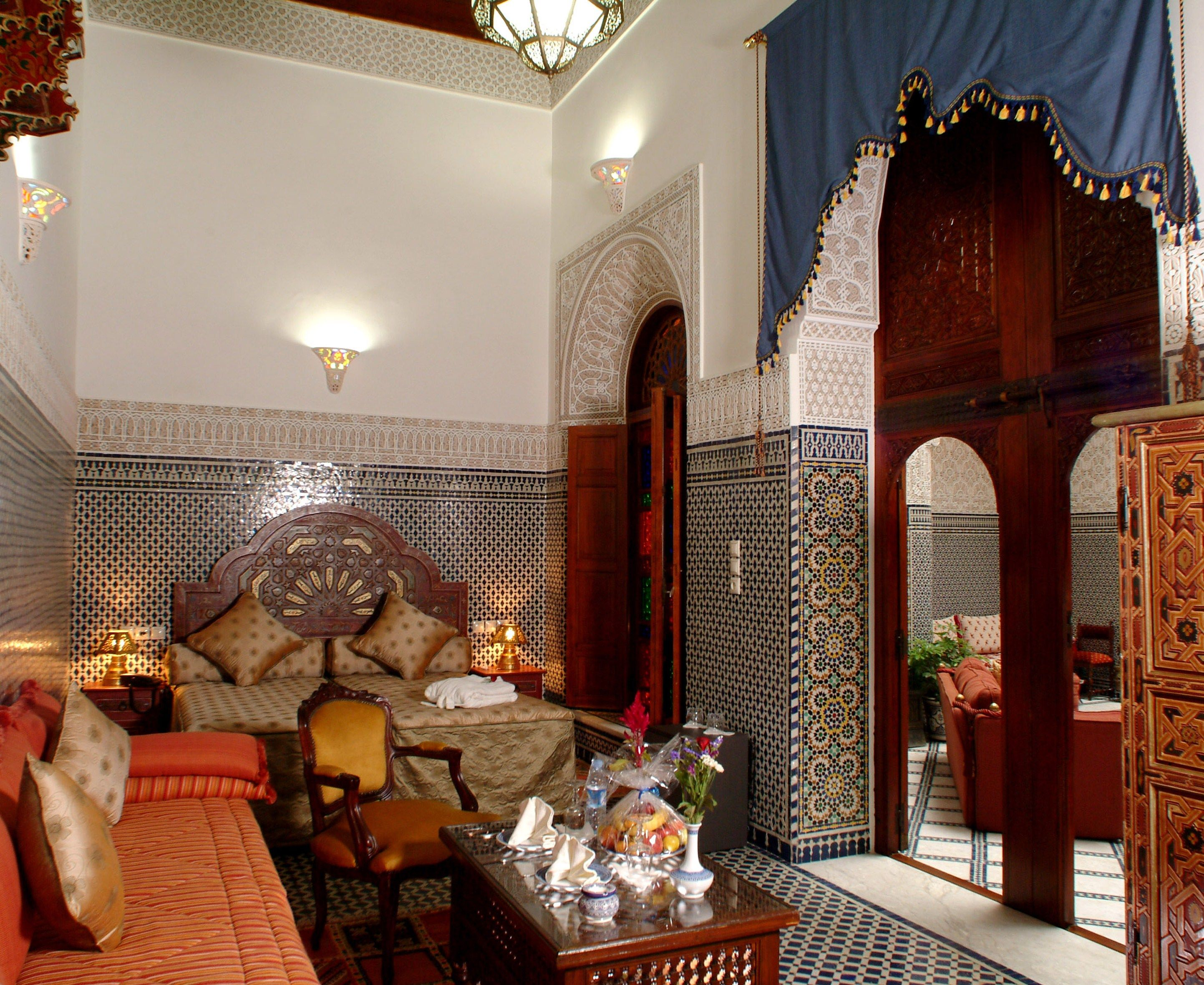 Maroc Decoration Interieur Azrou Morocco Riad Moroccan Styles And Interior