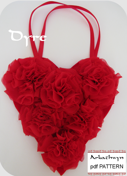 Valentine Heart Gift Bag - Sewing Pattern