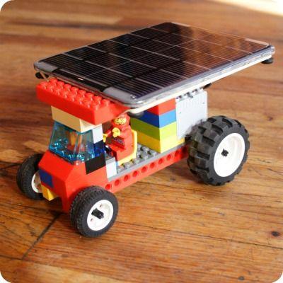 Solar Powered Lego Car Theme Lego Solar System
