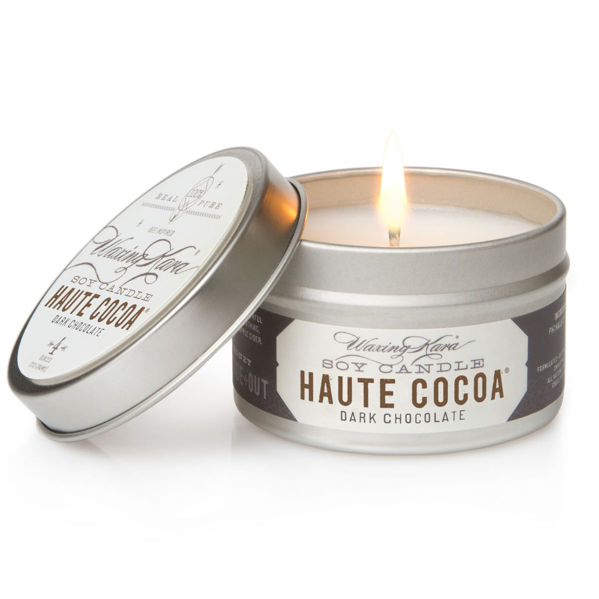 Photo of Haute Cocoa Soy Tin Candle