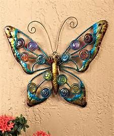 Large Metal Butterfly Yard Art Bing Images Outdoor Wall Art