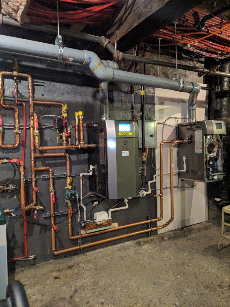 A twin nti Lx400 high efficiency condensing gas boiler
