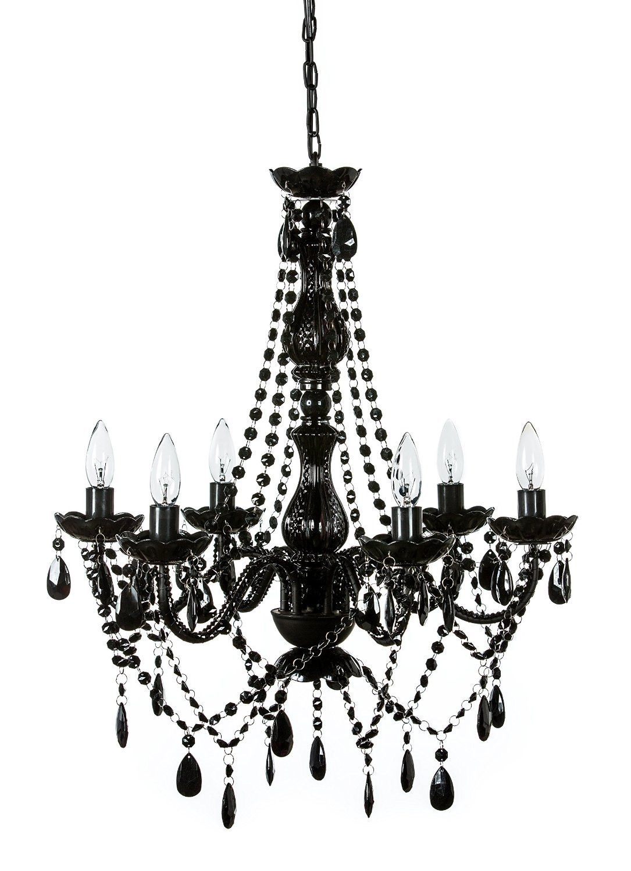 Blakely black acrylic crystal boho gypsy chandelier in 3 sizes blakely black acrylic crystal boho gypsy chandelier in 3 sizes arubaitofo Gallery