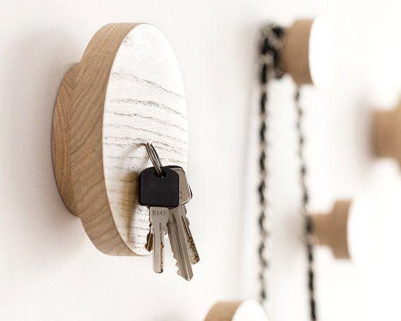 Key Hook For Wall Modern Key Holder Entryway Organizer
