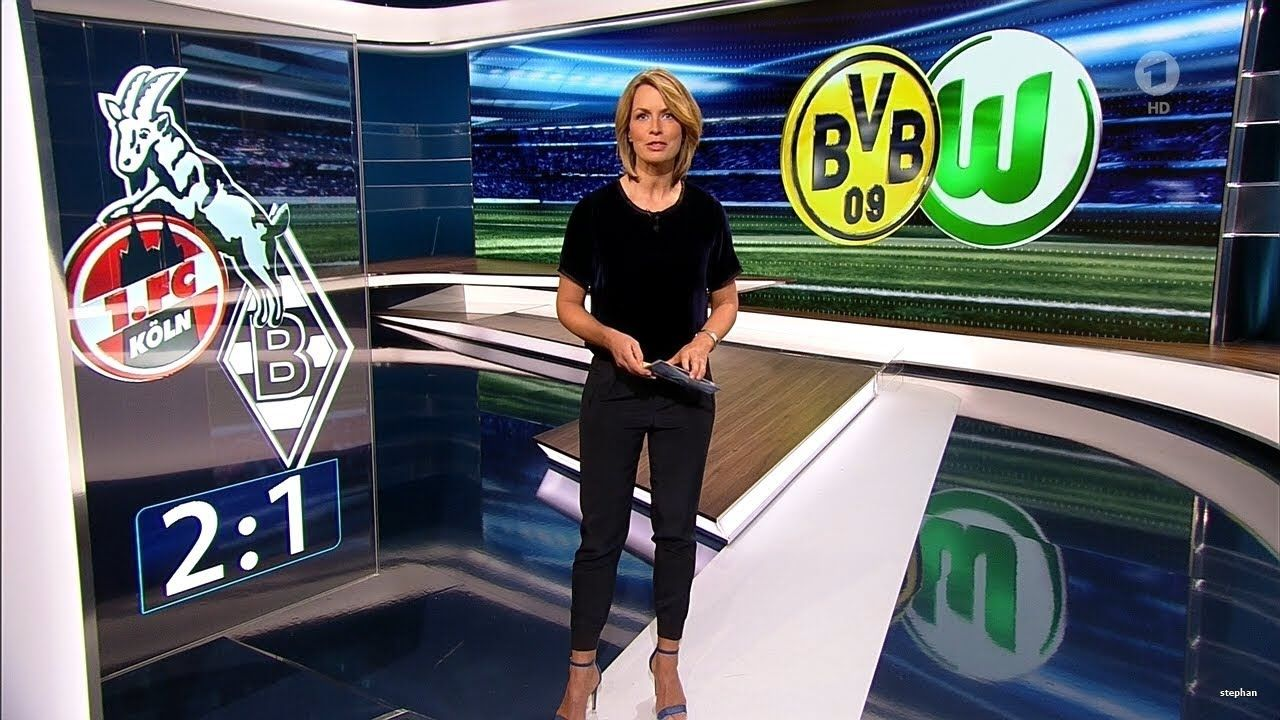 Jessy Wellmer Sportschau 14.01.2018 Sportschau, Sport