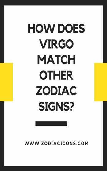 What sign does virgo match with