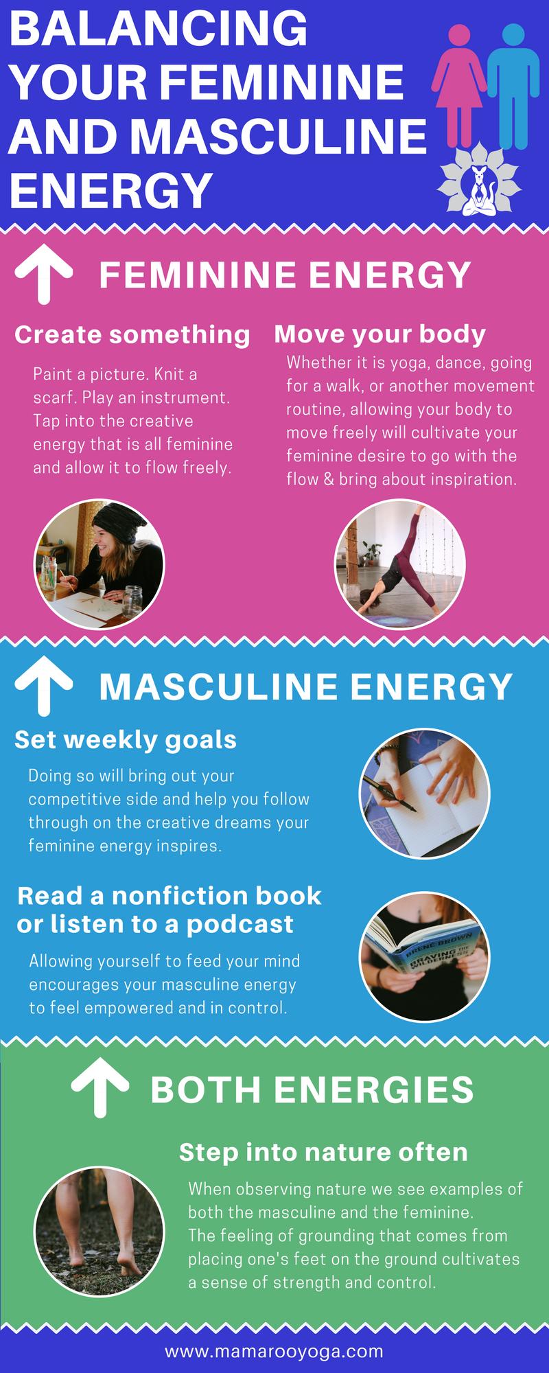 how to have feminine energy