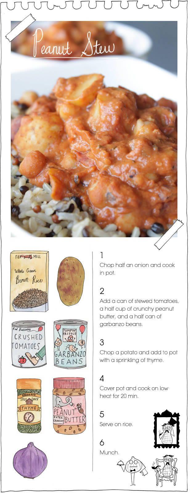 The Vegan Stoner's Peanut stew