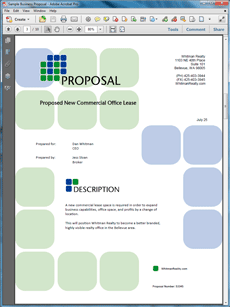 Create A Proposal Template Images    Proposal Software