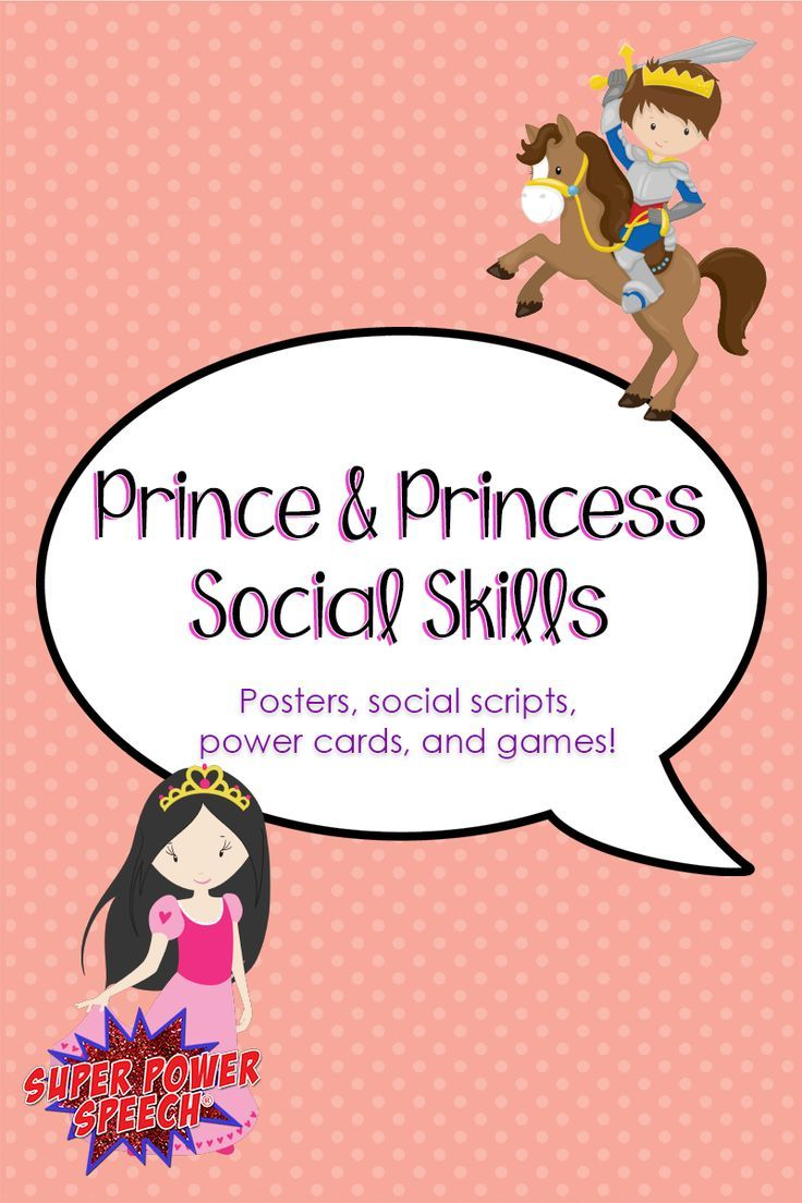 Prince And Princess Social Skills
