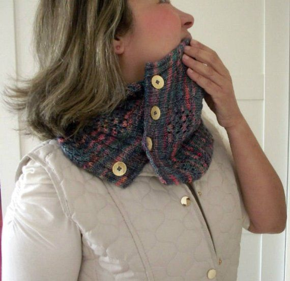 KNITTING PATTERN COWL - Happy Valley Cowl- Easy lace using Knit ...