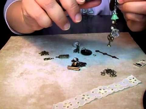 ▶ Swivel Clasp Charm Kit Instructions/Tutorial Pt 1 - YouTube