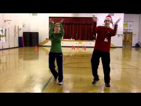 DANCE - Jingle Bell Dance (w tutorial).mp4 | Preschool music, Music classroom, Elementary music