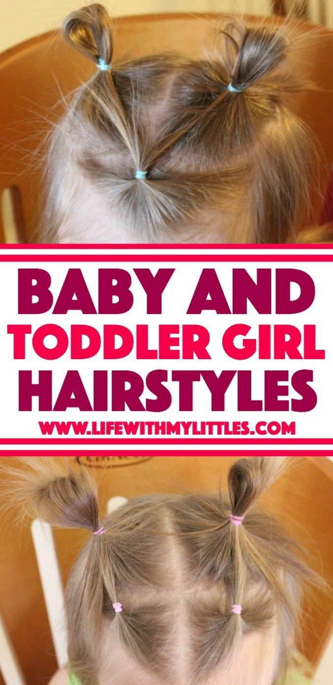 Baby and toddler girl hairstyles spencer hair pinterest simple