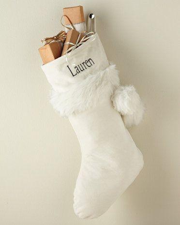 Winterland Stocking from @Garnet Hill | Cold December Night ...
