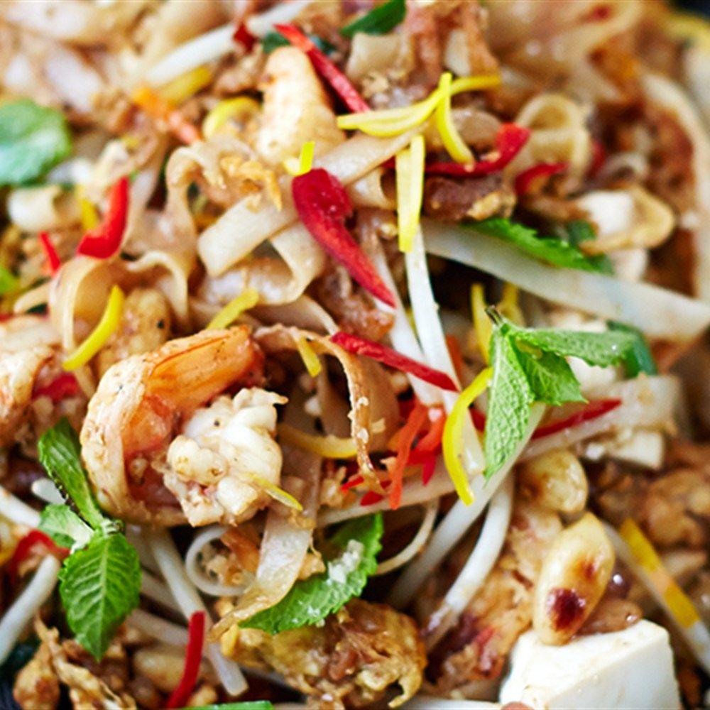 Prawn And Tofu Pad Thai Recipe Food Pinterest Tofu Pad Thai