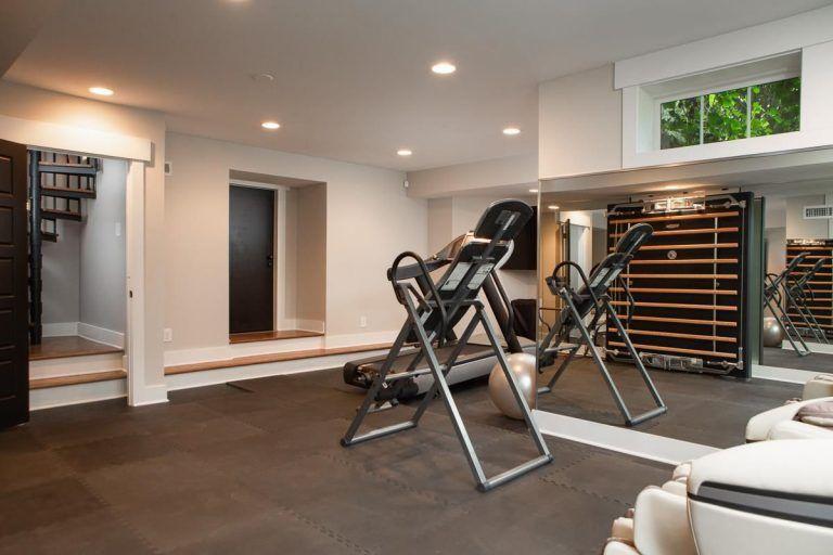50 Home Gym Design Ideas for 2018 Gym Pinterest At home gym