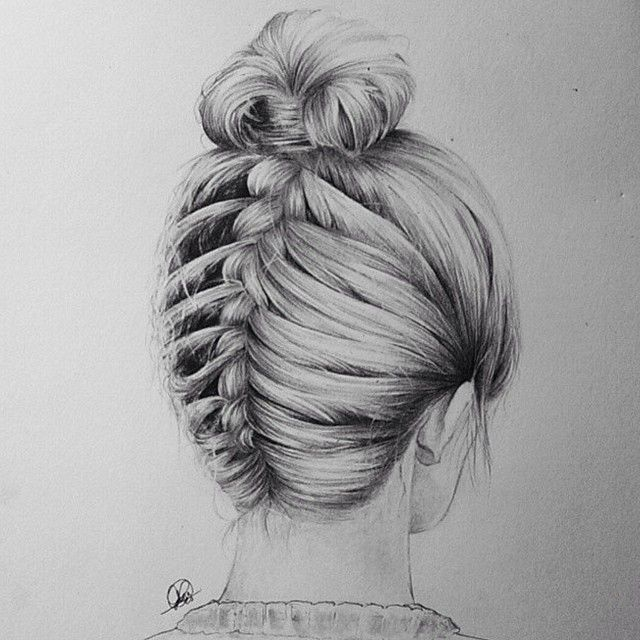 Image Result For How To Draw Plaited Hair Step By Step