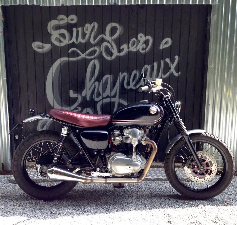 Kawasaki W 650 2001 Sur Les Chapeaux De Roues