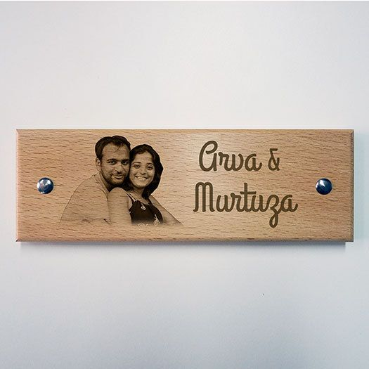 Engraved Wooden Apartment Name Plate Photo By Engravedotin Name Plate Design Name Plates For Home Wooden Name Plates