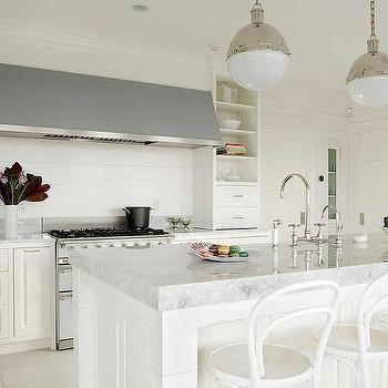 Merveilleux Thick Princess White Quartzite Kitchen Countertops