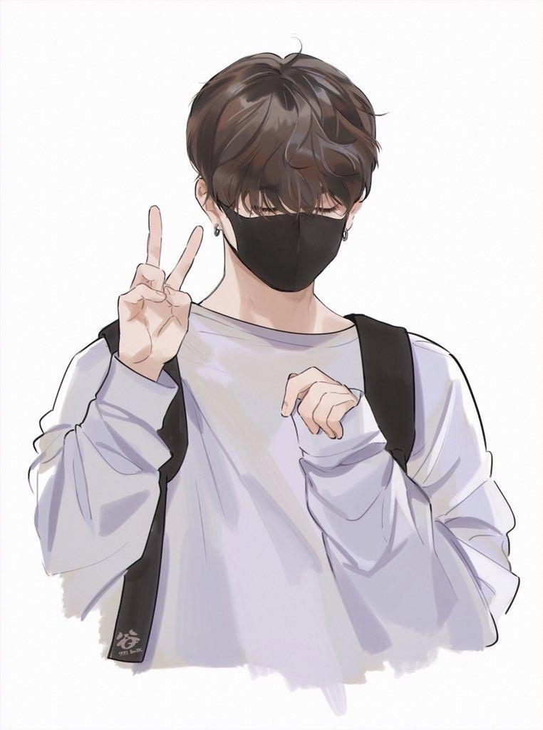 Jungkook Art Jungkook Fanart Cute Anime Guys Anime Art
