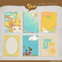 Sunny Disposition Journal Cards by ya yeah at Two Peas in a Bucket