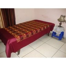 Phulkari Bedcover - Single Bed