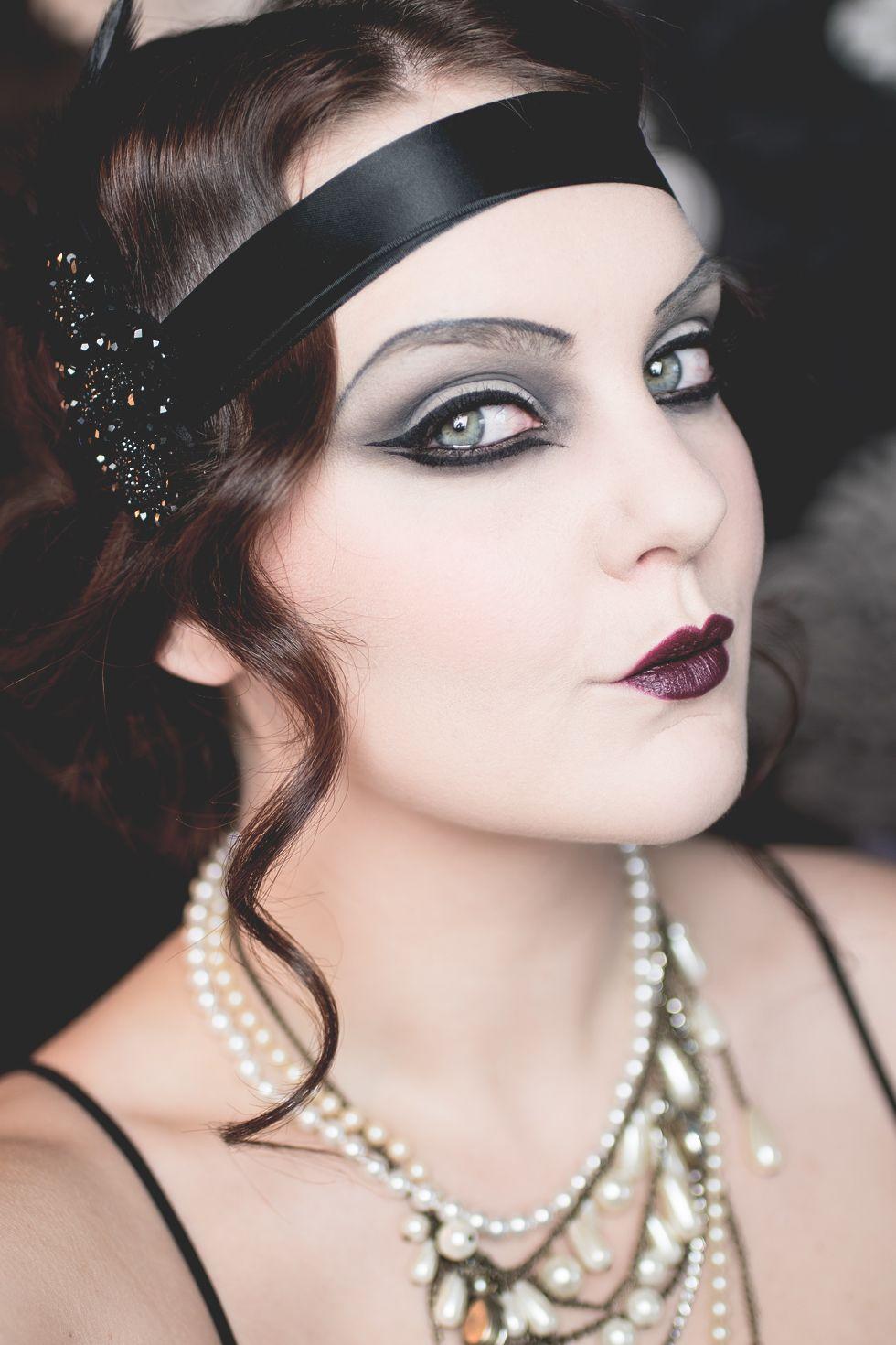 isadora halloween the great gatsby 20's makeup … | Pinteres…