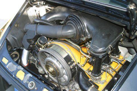 1973 Porsche 911T Sunroof Sport Seats Blue Plates Engine