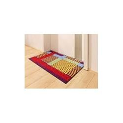 Doormat Wash & Dry Kleen-Tex multicolored Kleen-TexKleen-Tex