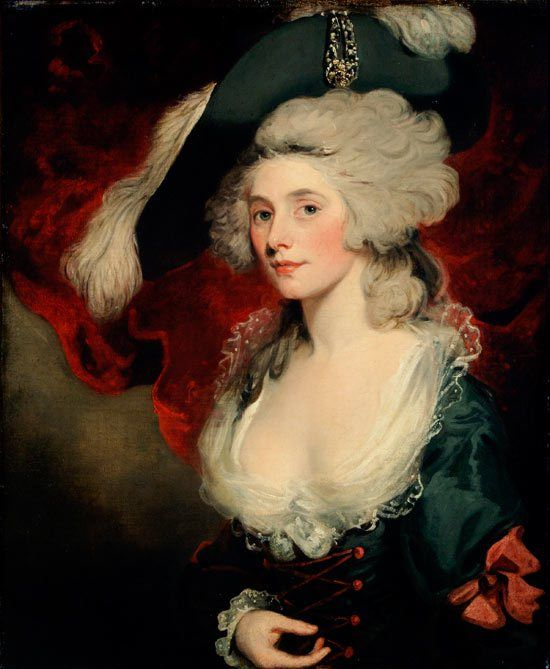 Mary Robinson as Perdita, John Hoppner, 1782