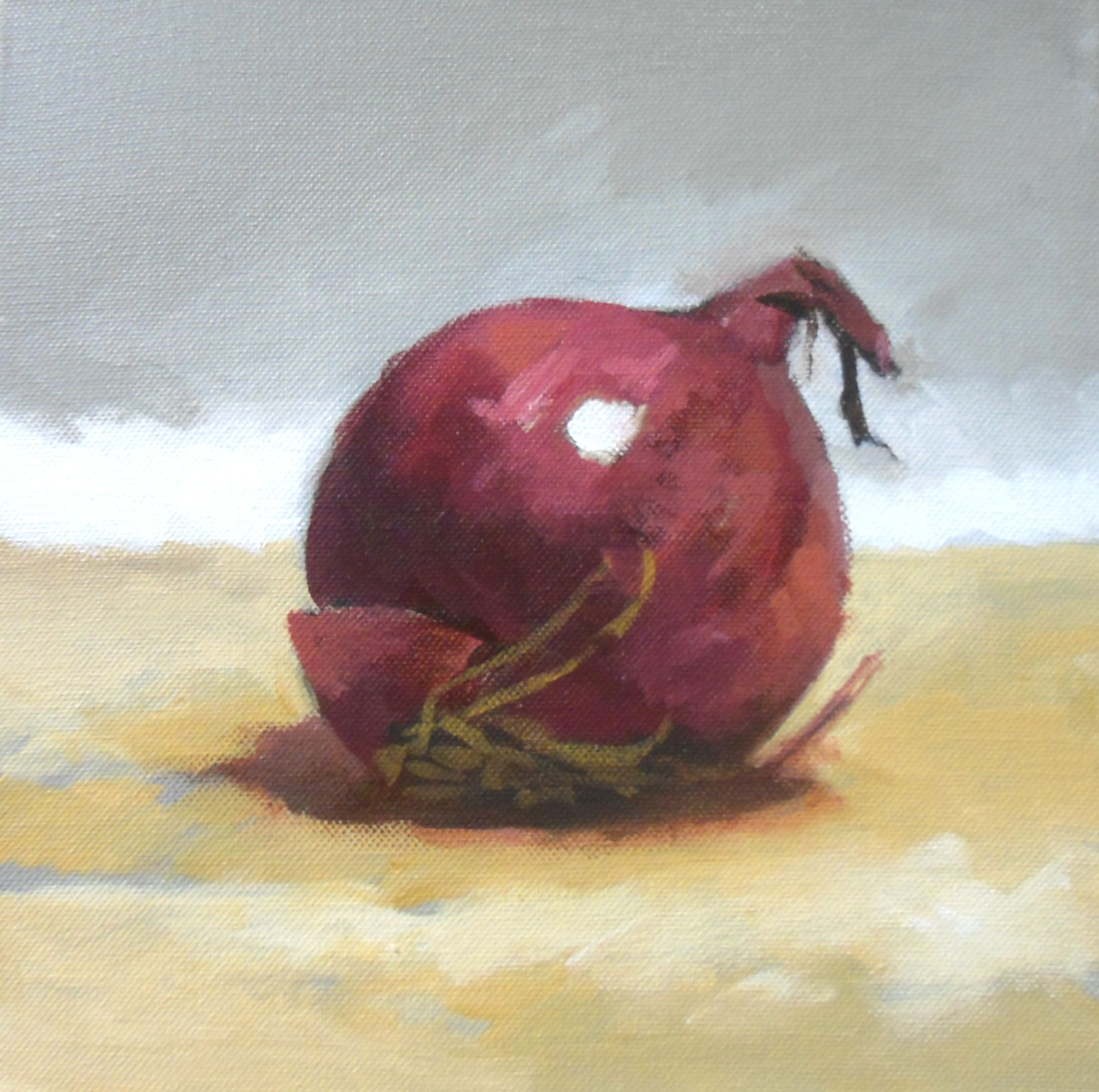 Acrylics instructional video lesson: Onion by Will Kemp at ArtTutor.