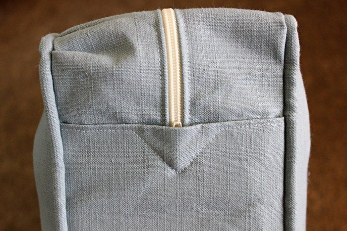 How To Sew A Cushion Cover With Zipper