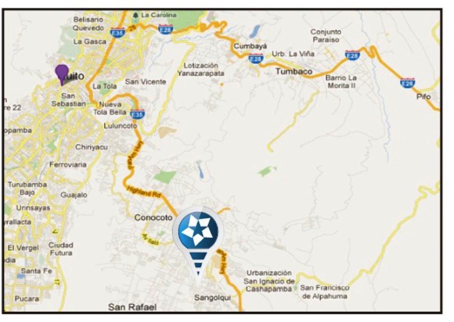 CONJUNTO RESIDENCIAL ISLA DE CRETA  Proyecto de vivienda unifamiliar, ubicado en la calle Abdón Calderón y Pasaje B (Valle de los Chillos).   1.999-2.000