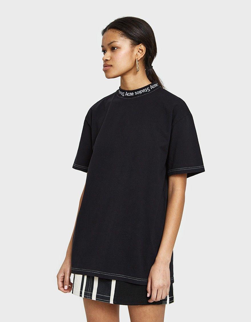 30ecc93ab Gojina Dyed Tee Acne Studios, Short Sleeves, Tees, Cotton, T Shirt,