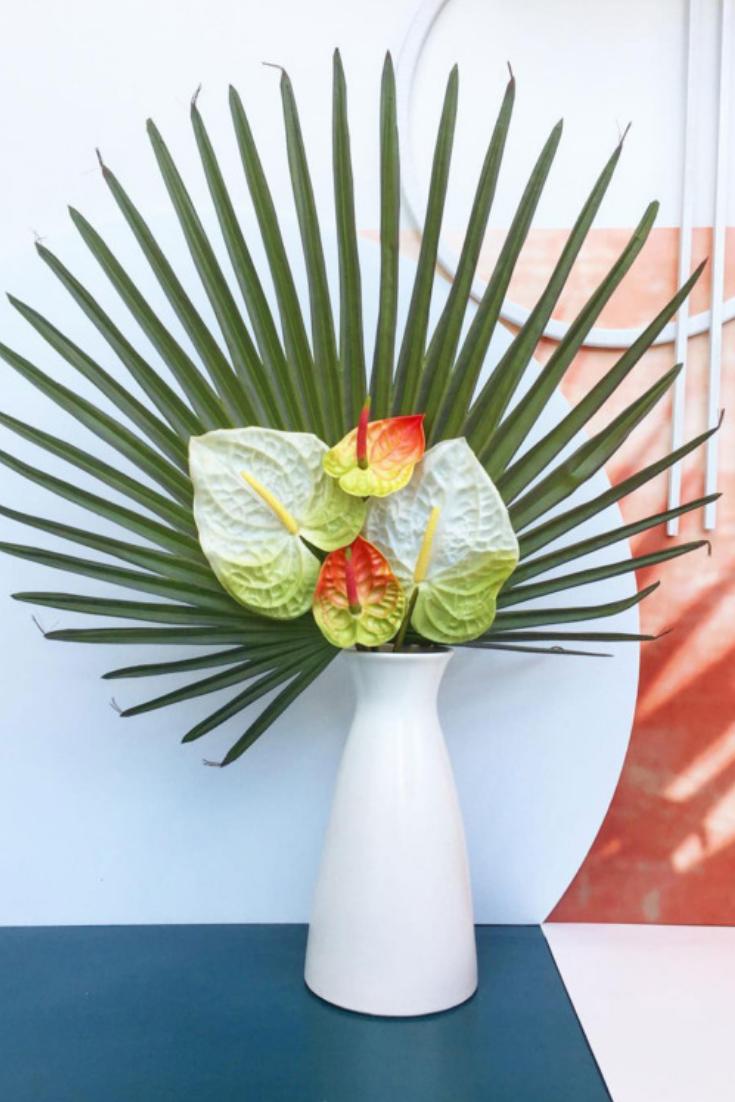 Real Anthuriums Cost 20 A Stem So May We Suggest A Faux Anthurium Floral Arrangements Flower Arrangements Centerpieces