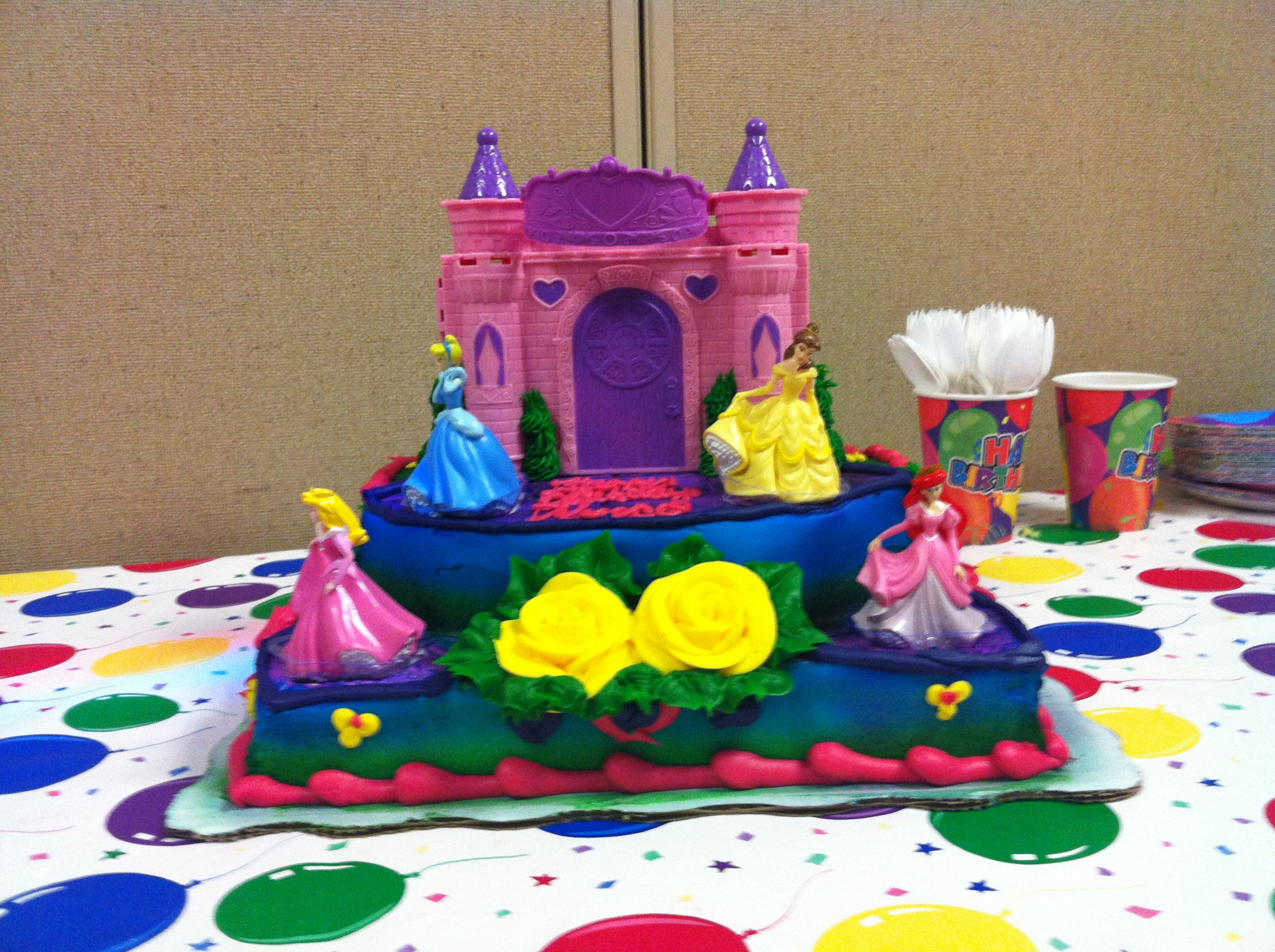 This Disney Princess Birthday Cake Is Stunning SaharaSams