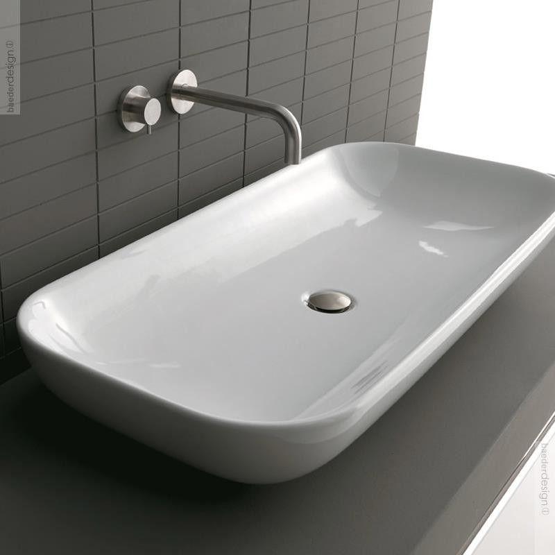 Axa Aufsatzwaschbecken Ciotola In 70cm Oder 100 Cm Breite