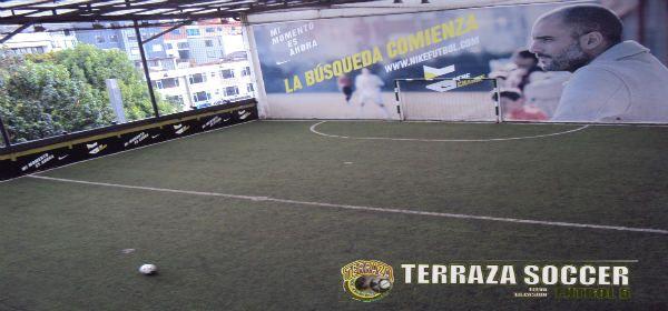Terraza Soccer Fútbol 5 Canchas Futbol 5 Terrazas Y Canchas