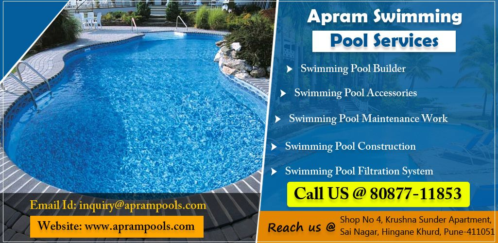 Enroll Yourself For Apram Swimming Pool Services For