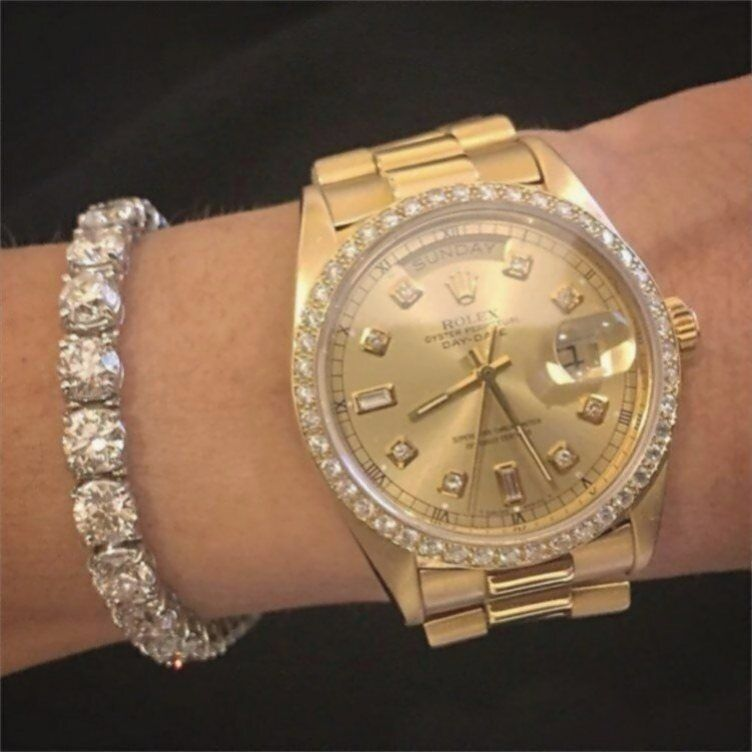 Tamara Champagne Diamondsz 2020 Bayan Saatleri Erkek Kol Saatleri